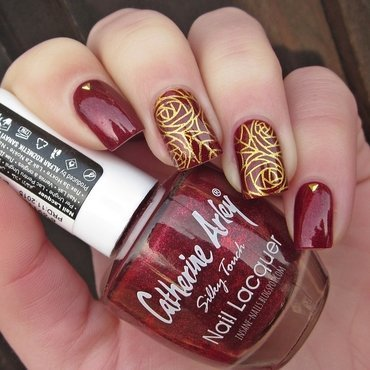 Matching manicures red nails 2017 1 thumb370f