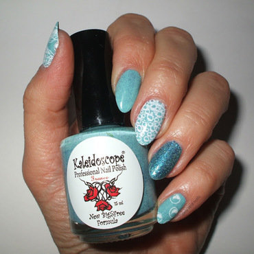Sea you later nail art by only real nails.