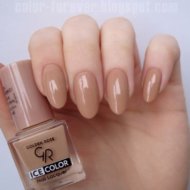 Golden Rose Ice Color 107 Swatch by ania