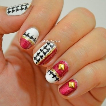 Houndstooth 20nails 201 thumb370f