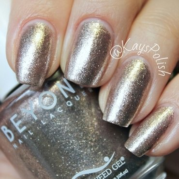 Bio Seaweed Gel Champagne Swatch by Kay's Polish