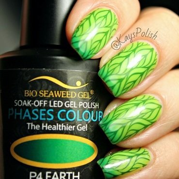 Leaving Earth nail art by Kay's Polish