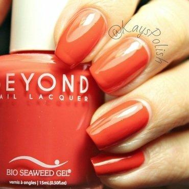 Bio Seaweed Gel Cherry Pie Swatch by Kay's Polish