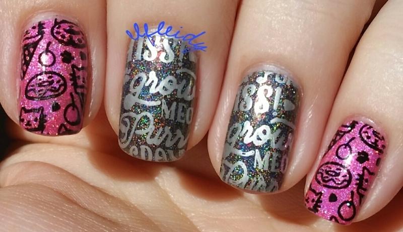 Kitties nail art by Jenette Maitland-Tomblin