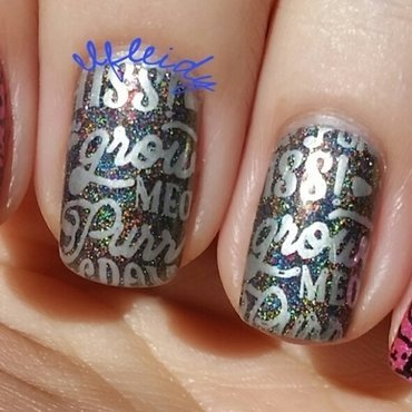Kitties nail art by Jenette Maitland-Tomblin