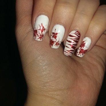 Martisor  nail art by Maria T.