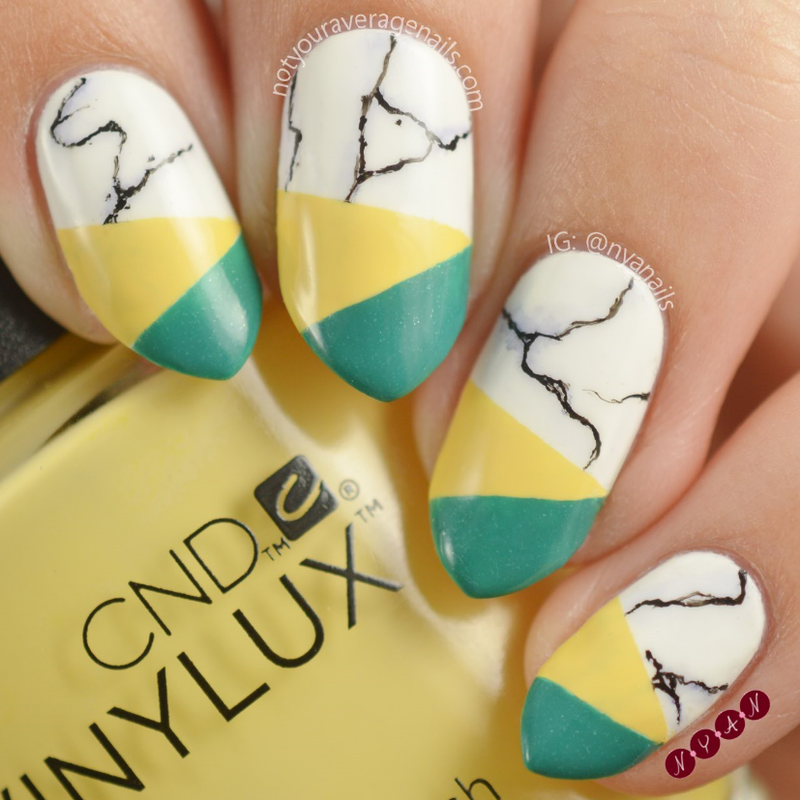 Sunshine State nail art by Becca (nyanails)