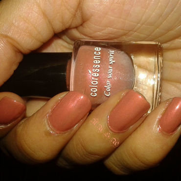 coloréssence Nude Peach Swatch by Rusa