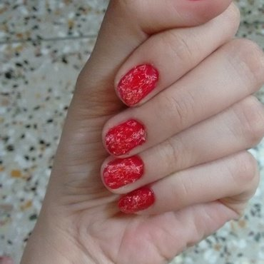 galaxy nail art by aishu93