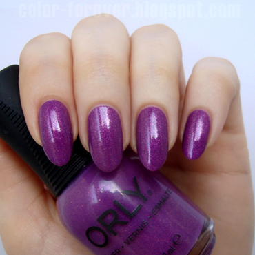 Orly Celebrity Spotting Swatch by ania