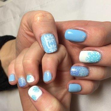 Mum &daughter fun love nail art by Niki