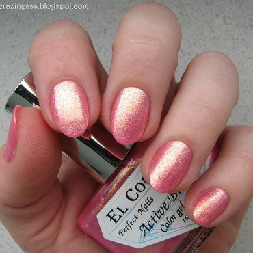 El Corazón Magic Rosebud Swatch by Nail Crazinesss