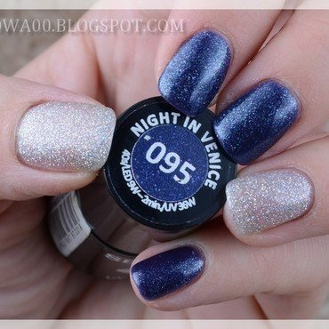 Night In Venice nail art by Jadwiga