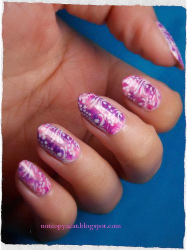 No name :D nail art by notcopyacat