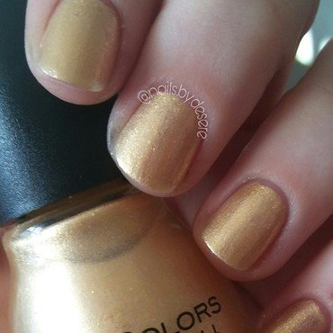 Sinfulcolors Gilded Goddess Swatch by Desere Olson