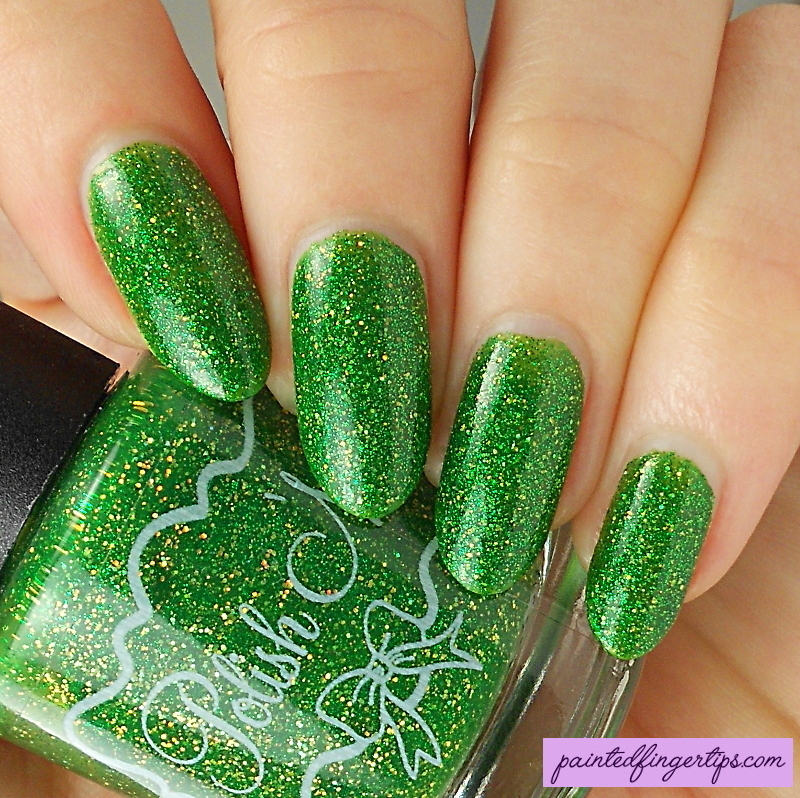 Polish 'M Holly Jolly Christmas Swatch by Kerry_Fingertips