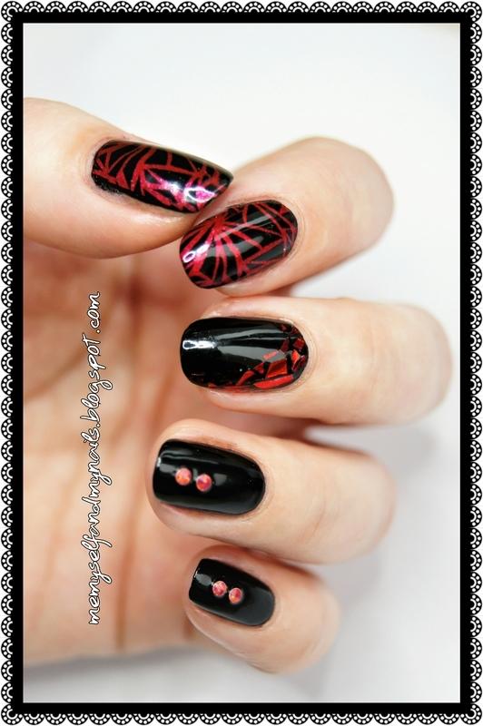 Un-broken nail art by ELIZA OK-W