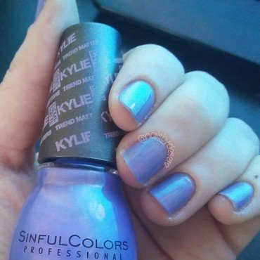 Sinfulcolors Kommotion Swatch by Desere Olson