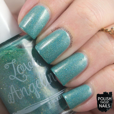 Love angeline 31 in torrance teal holo flakies swatch 3 thumb370f