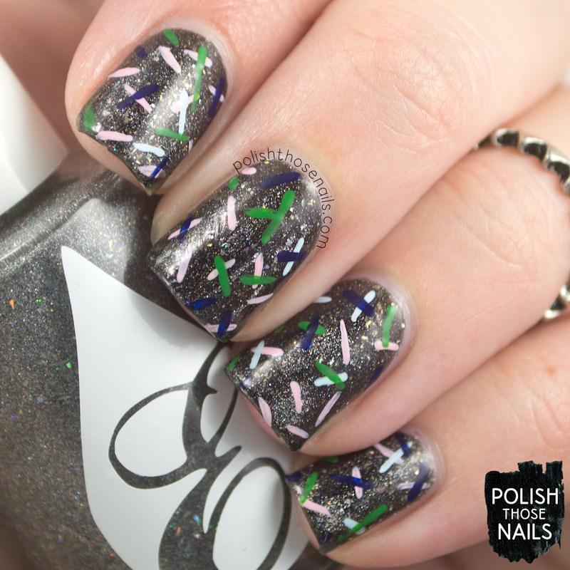 All That Glitters Is Diamonds nail art by Marisa  Cavanaugh