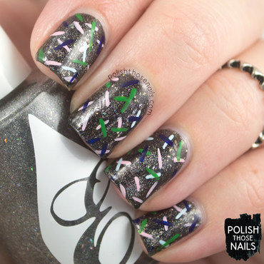 All That Glitters Is Diamonds nail art by Marisa  Cavanaugh