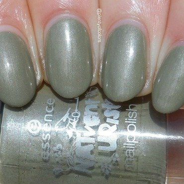 Essence Barefoot through the Moss Swatch by Plenty of Colors