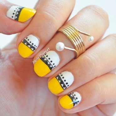 Yellow 20tribal 20nails 201 thumb370f
