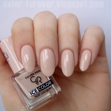 Golden Rose Ice Color 104 Swatch by ania
