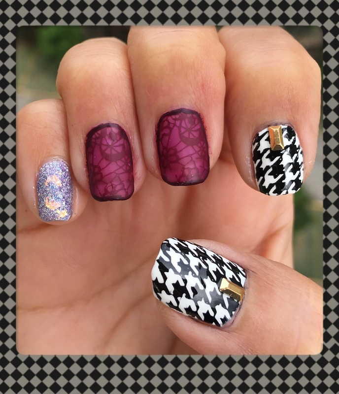 saks 5th avenue nail art by Idreaminpolish