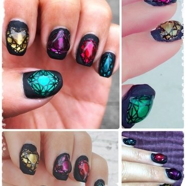 bling it on! nail art by Idreaminpolish