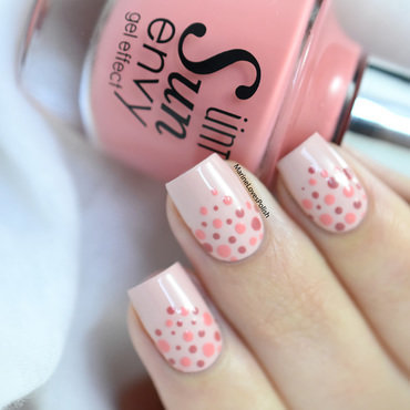 Pink dotticure nail art by Marine Loves Polish