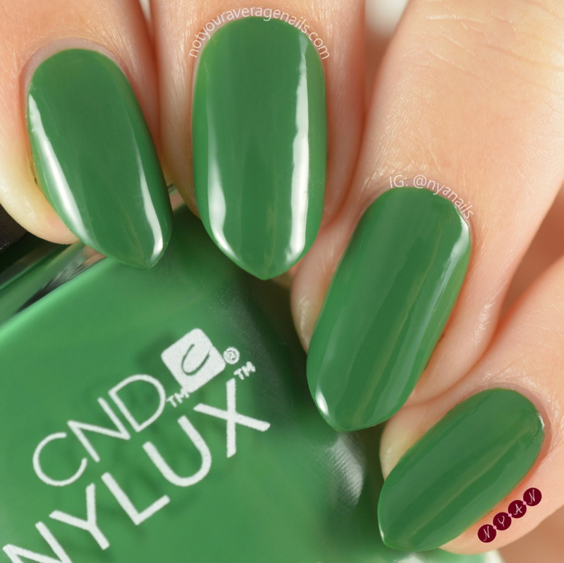 CND Palm Deco Swatch by Becca (nyanails)
