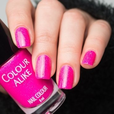 Colour alike 615 think pink neon nailpolish 5 thumb370f