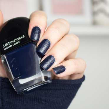 L.O.V Blue Provocation Swatch by Sabrina