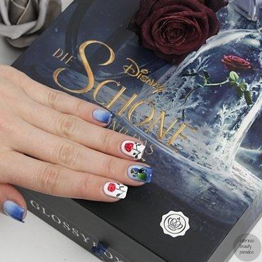 The Beauty and the Beast Nailart nail art by Sabrina