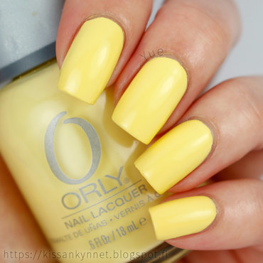 Orly lemonade spring polish thumb370f
