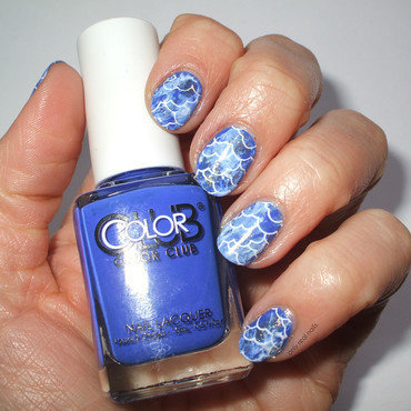 navy blue Nail Art and Swatches - Nailpolis: Museum of Nail Art