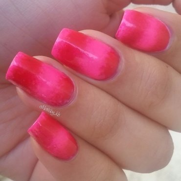Spring gradient nail art by nailsofkh