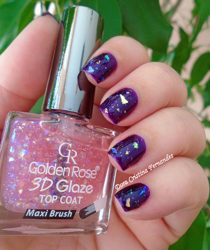 Guga e Glaze nail art by Dora Cristina Fernandes
