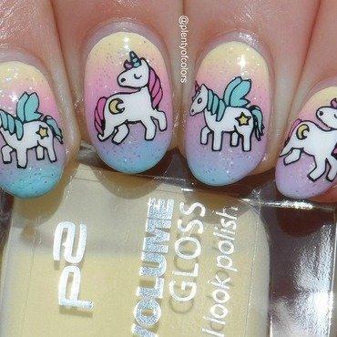 #glamnailschallengeapril Pastel nail art by Plenty of Colors