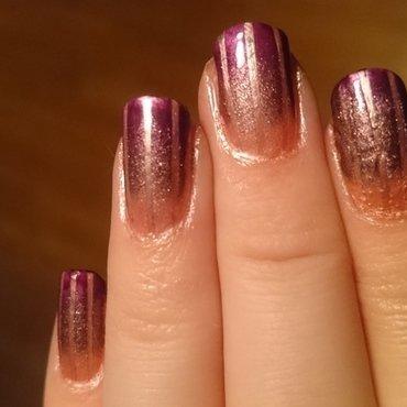 Pinkie nail art by Sabina Salomonsson