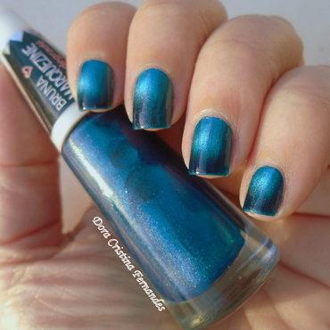 Ludurana (Bruna Marquezine) Blue Black Swatch by Dora Cristina Fernandes