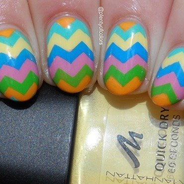 #glamnailschallengeapril Easter Eggs nail art by Plenty of Colors