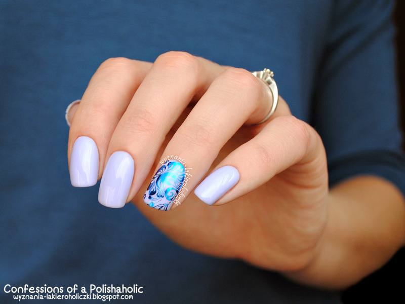 Flower nail art by Olaa