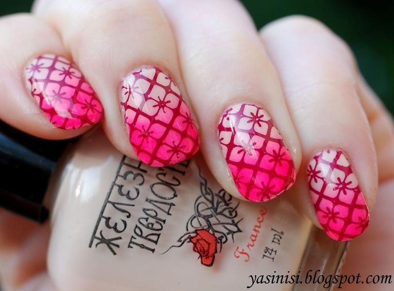 Feeling Shapely 07 nail art by Yasinisi