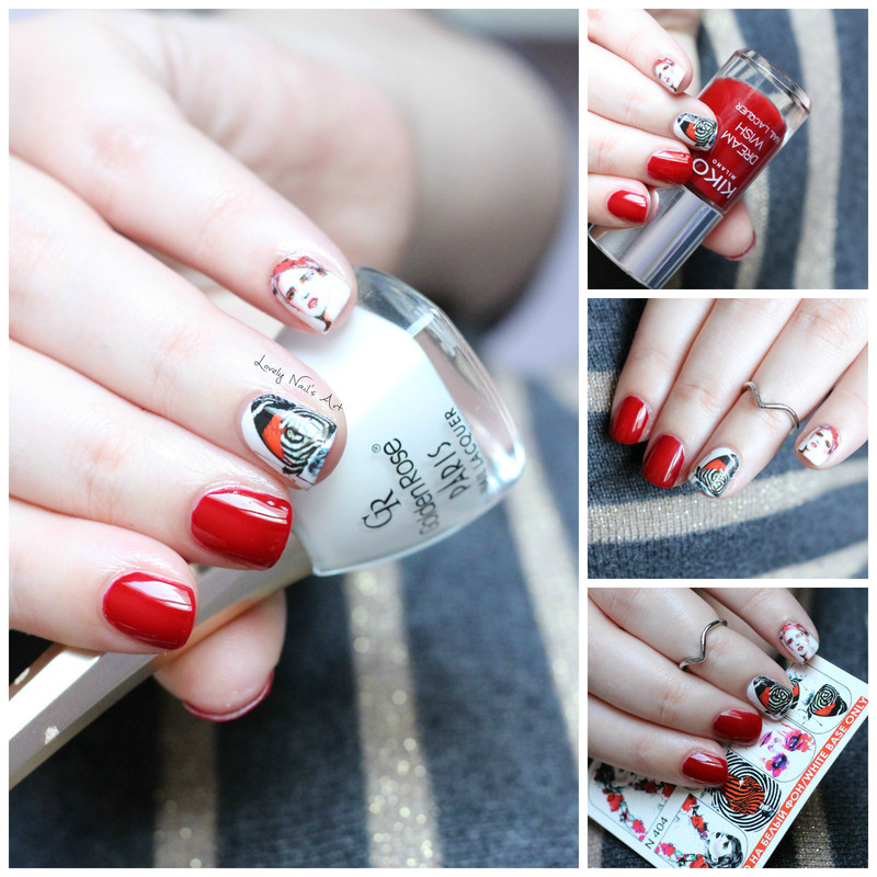 Nail art milvart  nail art by Lovely Nail's  Art