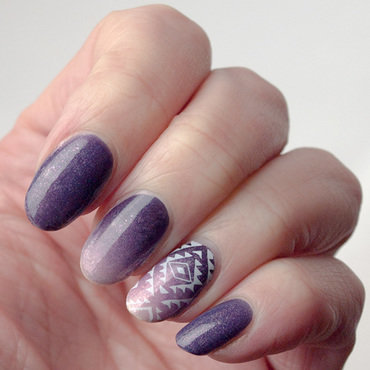 Accents purple tribal gradient instagram thumb370f