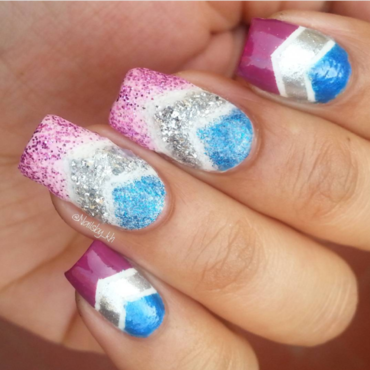 Glitters nail art by nailsofkh