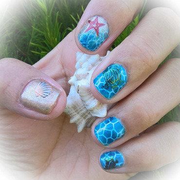 #nailswithigfriends Marine Theme nail art by Avesur Europa