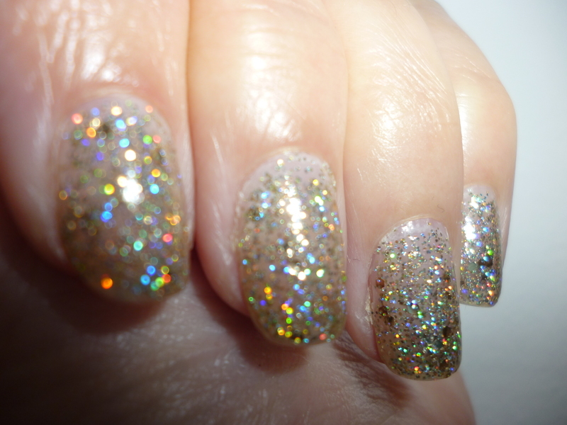 LLUMS 34 Glitter Swatch by velinux